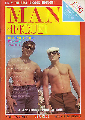Vintage Gay Magazine - Gay Interest - Look At Cover