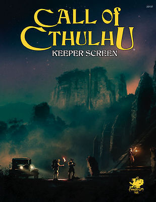 Call of Cthulhu 7th Edition RPG - Keepers Screen Pack - Horror Roleplaying