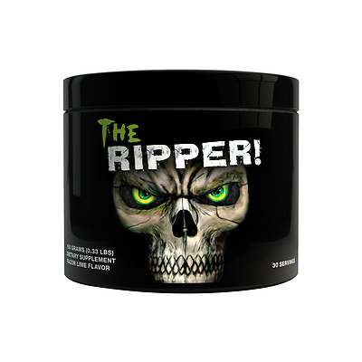 Cobra Labs The Ripper Pre Workout for energy, endurance and fat burning 150g