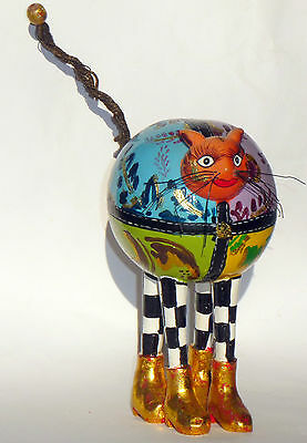 Toms Drag Company cat design Little Norma Jeany Tom Hoffmann sculpture 17.5 cm