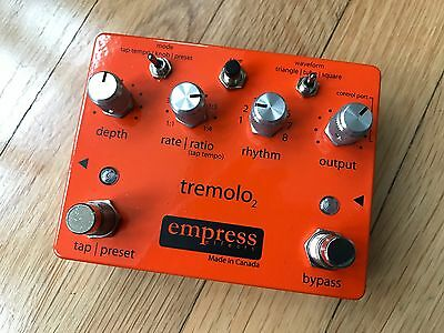Empress Effects Tremolo 2 Pedal Tremolo2, Barely Used