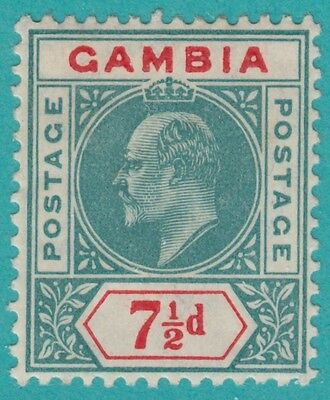 Gambia 54 Mint Hinged Og * No Faults Very Fine !