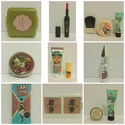 Benefit:Dr.FeelGood,Dandelion Powder,Boi-ing 02/03,Gimme Brow,Lipstick-Genuine