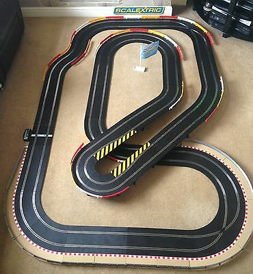 Scalextric Sport Large Layout with Flyover / Hairpin & 2 Cars *