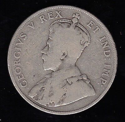 1911 Half Dollar / Fifty Cents - Silver Canadian Coin