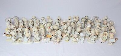 VTG 70's 80's 90's Lot 80 Precious Moments Members Only Ltd Edition Figurines