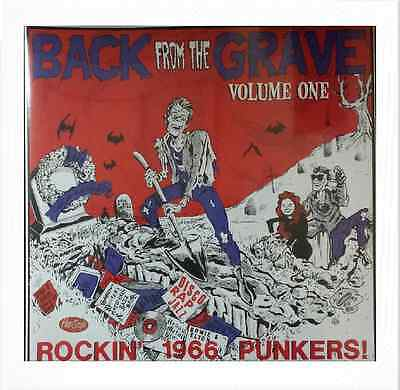 VA. BACK FROM THE GRAVE VOL. 1 (LP) RARE MID 60s GARAGE PUNKERS ♪♪HEAR♪♪