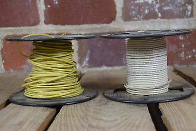 Lot of 2 Colonial Wire & Cable Co. 50 Feet Each 14 AWG Stranded ...