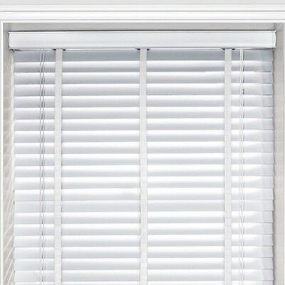 Wooden Blinds 25mm Slats With Tapes White 75x135 cm Home