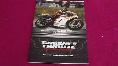Baz Sheene Tribute Programme Mint Silverstone 1St-4Th September 2016 A5 32 Pages