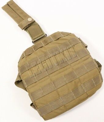 NEW London Bridge LBT-9004A Single Point MOLLE Leg Panel - Coyote Brown 500D