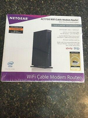 Netgear Ac1750 Wi-fi Docsis 3.0 Cable Modem Router (c6300) FREE SHIPPING