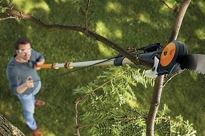 Fiskars 7-16 Foot Chain-drive Extendable Pole Saw and Tree Pruner