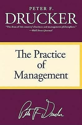 NEW The Practice of Management By Peter F Drucker Paperback Free Shipping