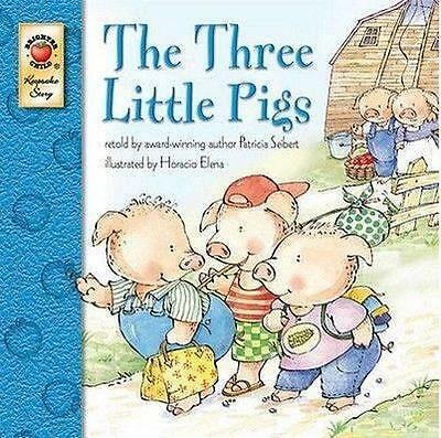 NEW The Three Little Pigs By Patricia Seibert Paperback Free Shipping