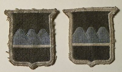 2215. WWII US Army 80th Division Shoulder Sleeve Insignia Patton's Workhorse