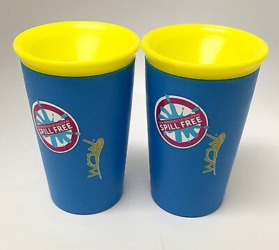 Wow Cup for Kids - NEW Innovative 360 Spill Free Drinking Cup - BPA Free - 9 2