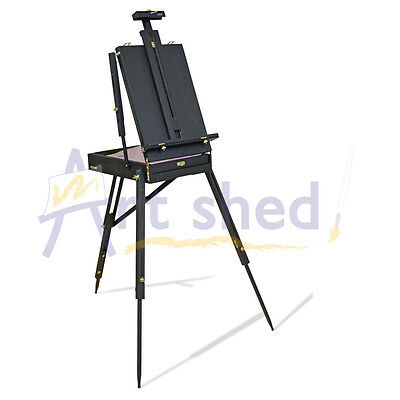 Mont Marte Black French Box Easel - perfect for Artists use or displaying