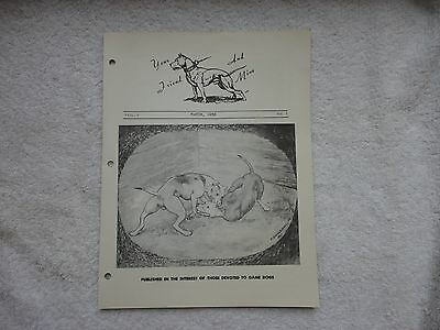 """Pit Bull March 1958  issue of  """"Your Friend and Mine"""""""