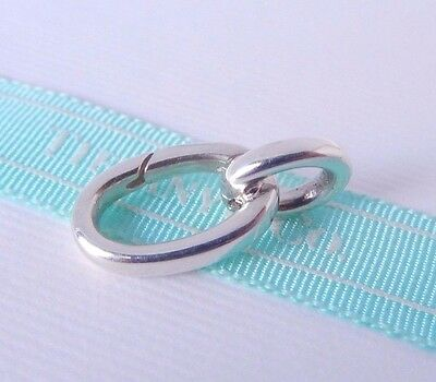 Tiffany & Co Silver Extender Extra Link for Clasping Link Bracelet