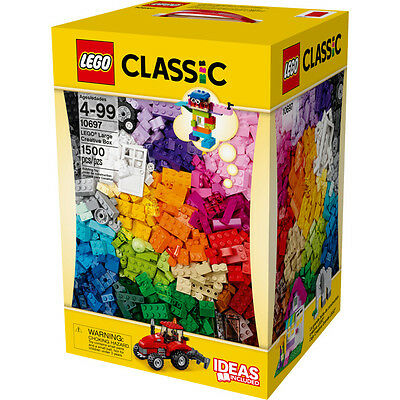 LEGO 10697 Large Creative Box of 1500 Pieces! Sealed New. Ideas Book Included