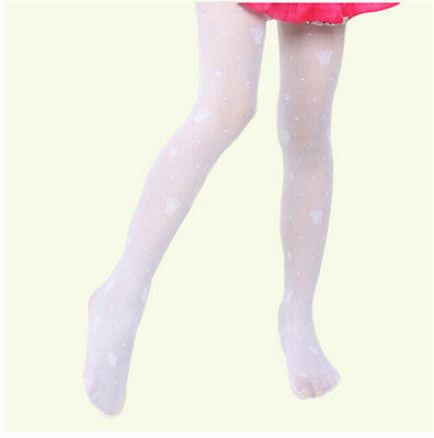 Lovely Breathable Butterfly Bear Stockings Kids Pantyhose Girl's Dance Tights