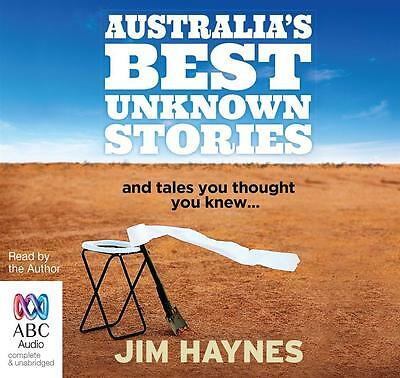NEW Australia's Best Unknown Stories By Jim Haynes Audio CD Free Shipping