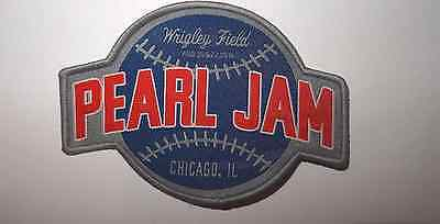 PEARL JAM 2016 Chicago  Wrigley Field show PATCH