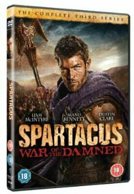 Spartacus:War of the Damned [DVD] - DVD  2GVG The Cheap Fast Free Post
