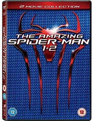The Amazing Spider-Man 1-2 [DVD] [2012] - DVD  3YVG The Cheap Fast Free Post