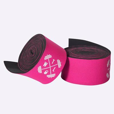New TWL Neoprene Knee Wraps - Pink from The WOD Life