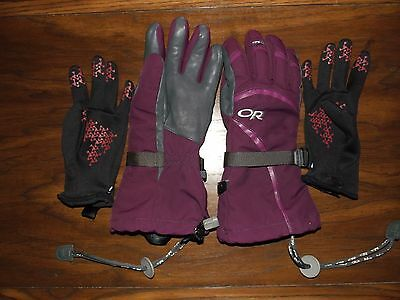 Women's Outdoor Research (OR) Highcamp Gloves SMALL