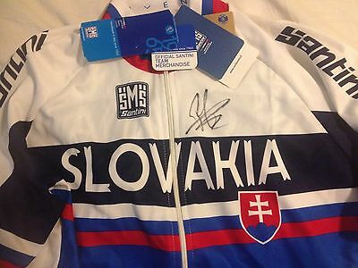 Peter Sagan SIGNED Slovakia Jersey. Tour de France, Cycling, bicycle, BNWT XXL