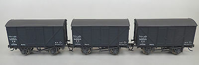 "Bachmann 'Parto"" vent vans, matching set of 3, OO, ex cond, Kadees"