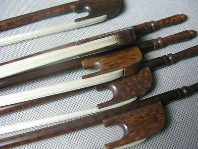 great 5pcs baroque style letterwood 4/4 violin bows,strong VIOLIN BOW