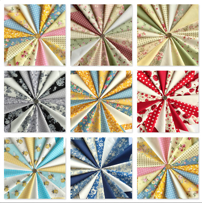 Fabric Pack 5 inch x 5 inch quilting, patch work, sewing 100 % cotton