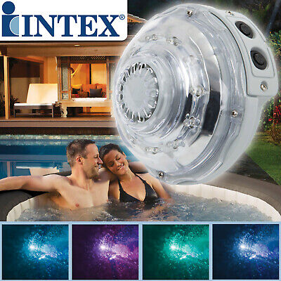 Intex LED-Licht für Whirlpool LED Licht Beleuchtung 5 Farben  Spa Pool Jacuzzi