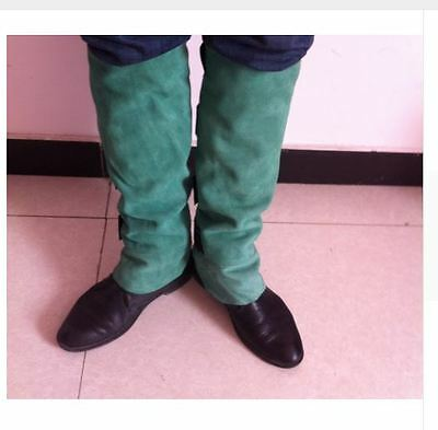Snake Gaiters Survival Hiking Army Leather Camping Chaps Thick Bite Proof Bush