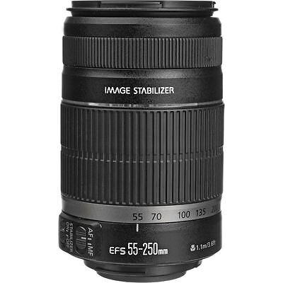 Canon EF-S 55-250mm f/4-5.6 IS II Lens (White Box) AU