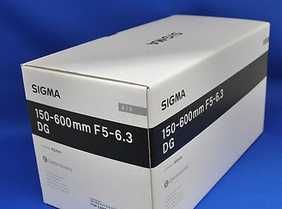 Sigma 150-600mm f/5-6.3 DG OS HSM Contemporary Lens for Nikon F Black AU