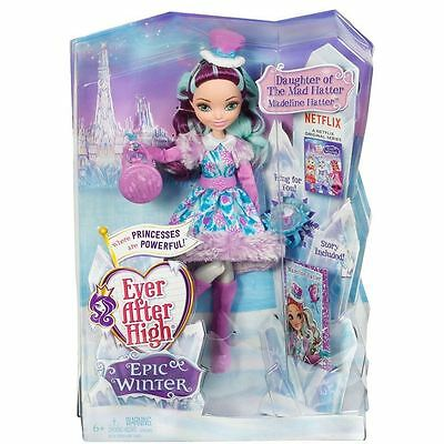 NEW - Ever After High Epic Winter Madeline Hatter Doll