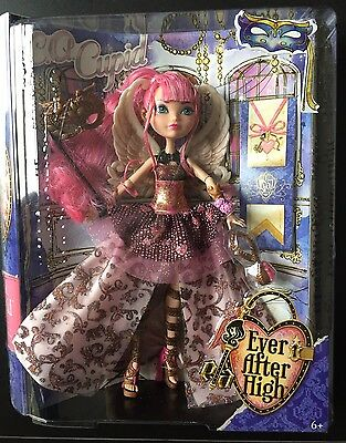 Ever after High C.A Cupid Thronecoming New In Box