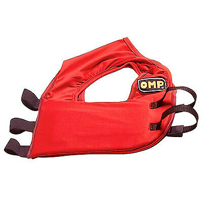 OMP Go-Kart/Karting/Racing Rib Protector / Protection - Red - Size Large