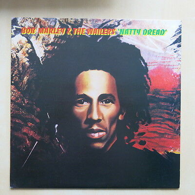 BOB MARLEY & THE WAILERS Natty Dread UK 1st press vinyl LP with inner 1974