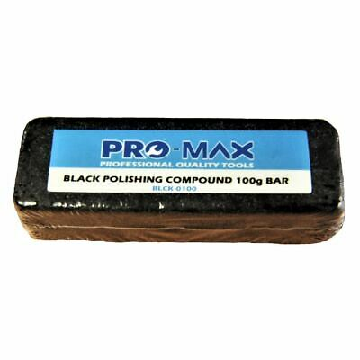 Pro-Max 100g Bar Black Steel & Stainless Steel Metal Polishing Buffing Compound