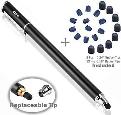 B And D Universal Capacities Stylus Touch Screen Pen 2 In 1 for Apple iPad New