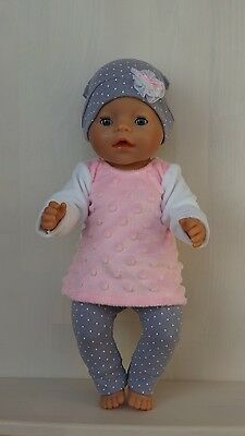Hand made clothing for Baby Born or other doll till 43 cm (17 inch)