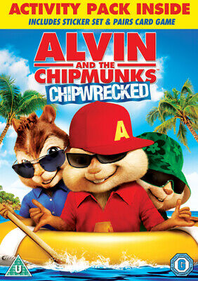 Alvin and the Chipmunks: Chipwrecked DVD (2012) Mike Mitchell cert U Great Value
