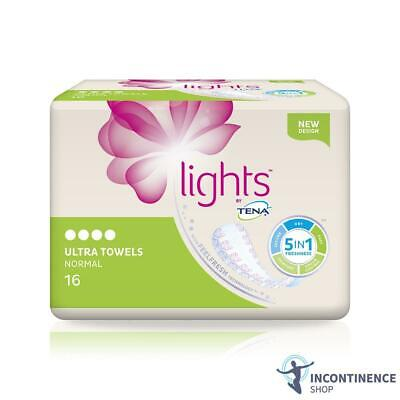 Lights by TENA - Ultra Towels Normal - Pack of 16