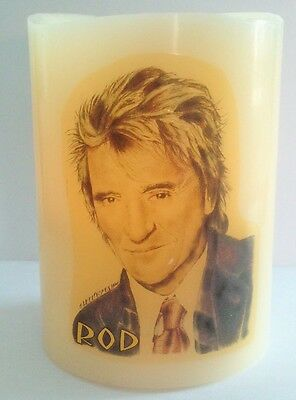 Rod Stewart Electronic Flameless Flickering Candle